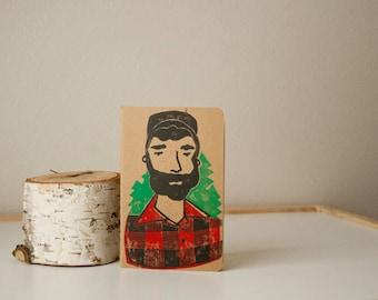 Custom Lumberjack Journal Order For Angela