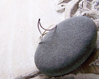 Wave Stack Ring - Stack Ring - Custom Stack Ring - Recycled Sterling Silver Ring