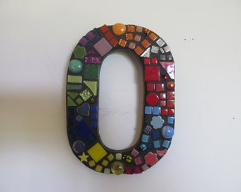 Mosaic House or Letterbox Number 0