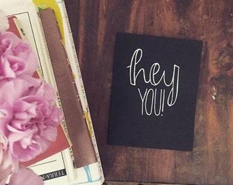 Hey You! Card