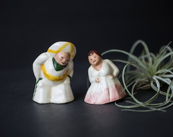 Mexican man and woman Salt and Pepper shakers