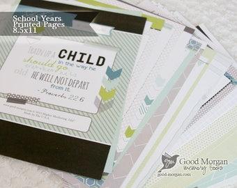 School Aged Memory Preschool Pack