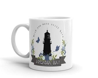 Arcadia Bay LiS Mug // Max Caulfield, Chloe Price