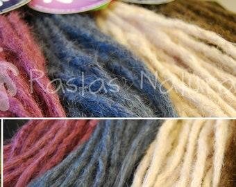 Handmade dreadlocks extensions - human hair - Basic Colors