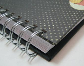Recipe Journal - Recipe Log - Recipe Organizer - Recipe Book - Recipes - Recipe Notebook - Cooking - Foodie - Bridal Shower Gift - Cupcake