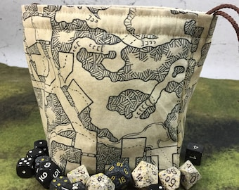 Dyson's Dungeon Map Dice Bag