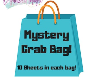 Mystery Grab Bag 10 sheets