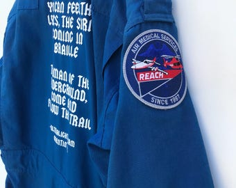 Air medical services jumper/ coverall