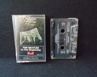 The Beatles In The Beginning (circa 1960).cassette. Tony Sheridan Tested and plays fine