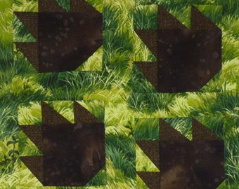 Bear Paws quilt pattern - ON SALE
