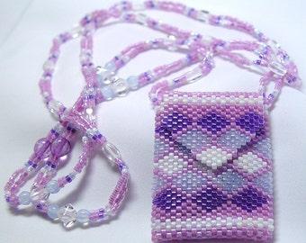 Pink Diamonds Amulet Necklace