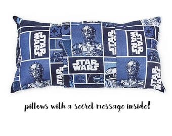Star Wars - pillow with a secret message
