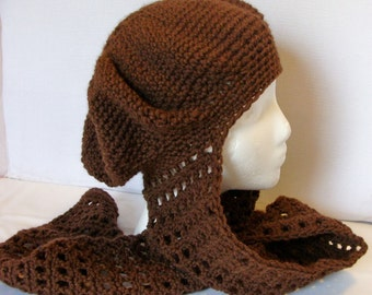 Teens to Adults Slouchy Scoodie Crochet Pattern 389