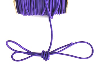 Covered with purple elastic cord with 2 X 1 mm nylon thread meter