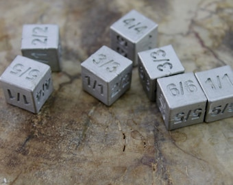MTG Token Dice, Magic The Gathering, Trading Card Games, Game Counters, Tokens, Metal Game Pieces