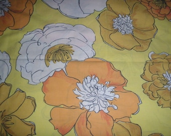 Fancy Floral STANDARD PILLOWCASE - Reclaimed Bed Linens