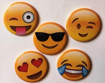 Large Emoji Magnets (Set of 5)