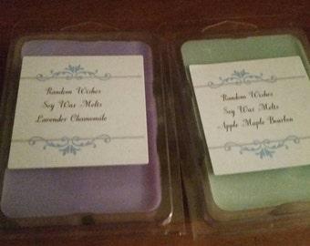 Soy wax melt, scented wax tarts, small tarts, soy tarts