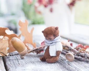Artists Miniature Teddy Bear , teddy bear,  Miniature teddy, soft toy bear, 2.3 inches