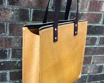 Gold Leather Handbag* Real Leather Handbag* Handmade Leather Handbag* Custom Made Leather Handbags* Gold Handbag* Handmade in the USA