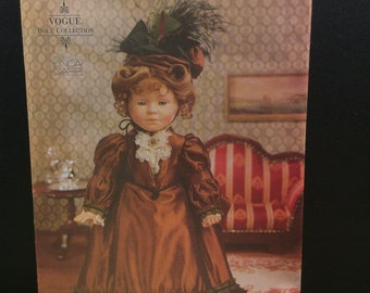 """Vogue Craft 18"""" Doll Sewing Pattern 7098 683 Historical Clothes Linda Carr"""