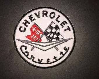 Corvette - Iron on Sew on Patch