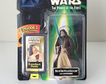 Vintage Star Wars Toy, Star Wars Gift, Star Wars Action Figure, Obi-Wan Kenobi