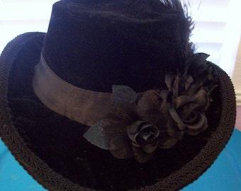 1870's - 1880's Woman's Hat