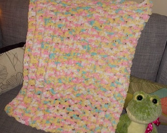 Pastel Colored Baby Blanket