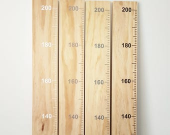 Timber giant ruler growth chart keepsake family heirloom track growing kids personalized name family date sign measuring height home sign
