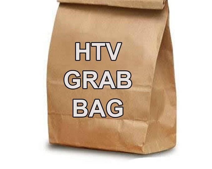 HTV Grab Bag - 10-12  miscut/slightly damaged sheets