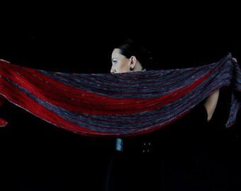 SALACIOUS Shawl Knitting Pattern PDF
