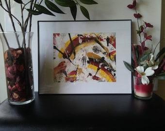 Abstract Lo Studio- Abstract paintings, wall art decor, wall art, abstract artwork, framed artwork
