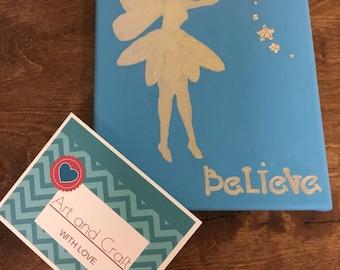 Believe Fairy Painting