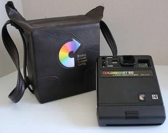 Vintage Polaroid Colorburst 50 with Case
