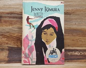 Jenny Kimura, 1967, Betty Cavanna, vintage book