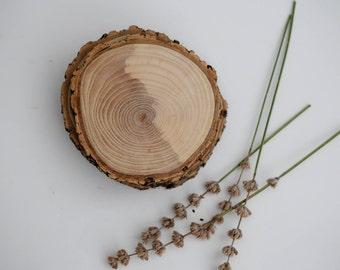 4 coasters, wood slices, wood coasters, reclaimed wood coasters, set of 4 coasters, round coasters, wood disks, wood slices,