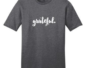 Grateful - Inspirational T-Shirt