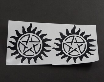 Anti Possession vinyl decal