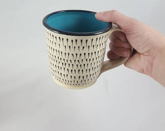 Available now! Immediate delivery, Large handmade mug, large mug, ceramic mug, pottery mug, ceramic cup, pottery, handmade mug, handmade