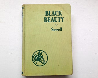 Undated Vintage Black Beauty Autobiography of a Horse by Anna Sewell
