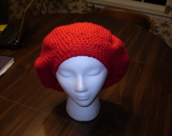 Fuzzy Red Beret