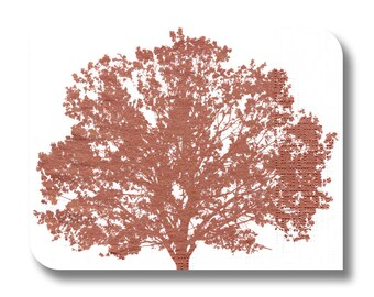 Paper napkin for decoupage, mixed media, collage, scrapbooking x 1. Copper Tree No. 1028