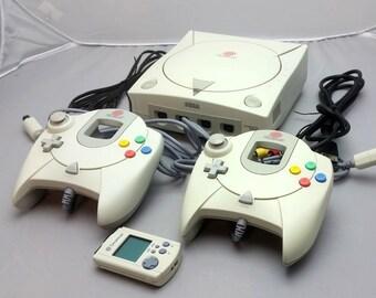 Vintage 1999 Sega Dreamcast System Game Console