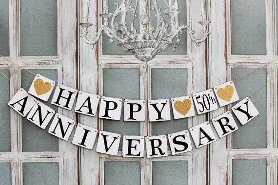 Anniversary banners th wedding anniversary decorations
