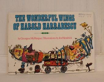 """Vintage """"Wonderful Wings of Harold Harrabescu"""" Book"""