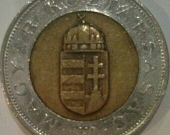 100 Hungarian Forints 1997, Hungarian currency, Money of Hungary, Hungarian coins, Europe coins, Hungarian Forints, Currency of Hungary