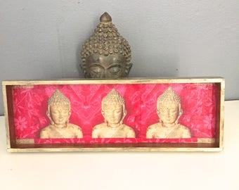 """BUDDHA"" RECTANGLE TRAY"