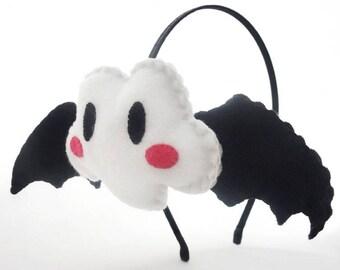 Serre-tête noir nuage chauve-souris