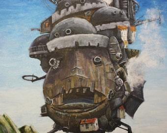 Howl's Moving Castle - Print